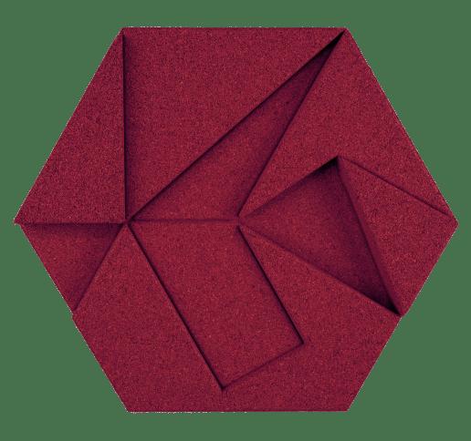 korkovy obklad hexagon bordova
