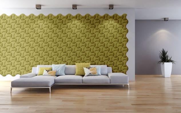 olivovy obklad na stenu