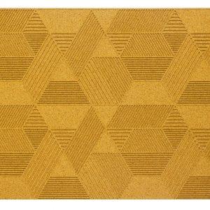 korkove-obklady-geometric-muratto-naturaldesign-Yellow