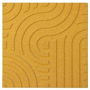 korkove-obklady-wave-muratto-naturaldesign-Yellow