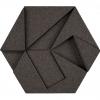 korkovy obklad hexagon seda